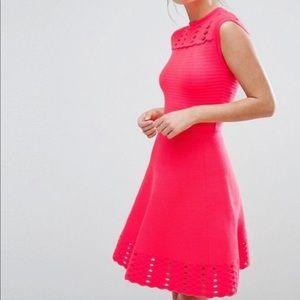 Ted Baker skater dress. NWT. Size 2